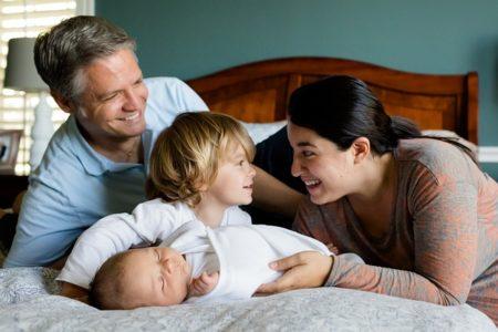 配偶者と子供